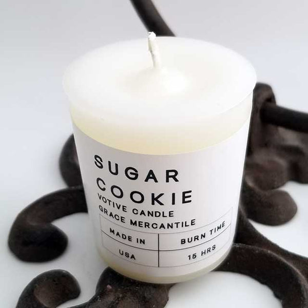 Wholesale Votives - Sugar Cookie Dallas Soap Company