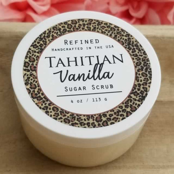 Wholesale Sugar Scrub - Tahitian Vanilla by Dallas Soap Company
