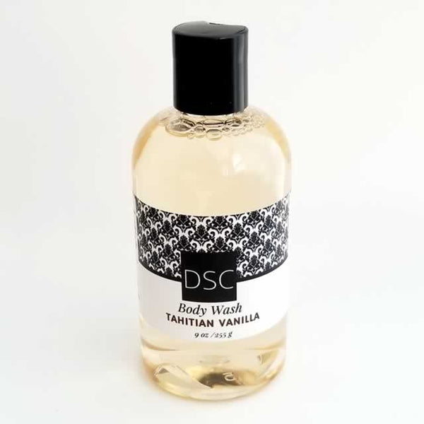 Wholesale Body Wash Tahitian Vanilla by Dallas Soap Company DSC