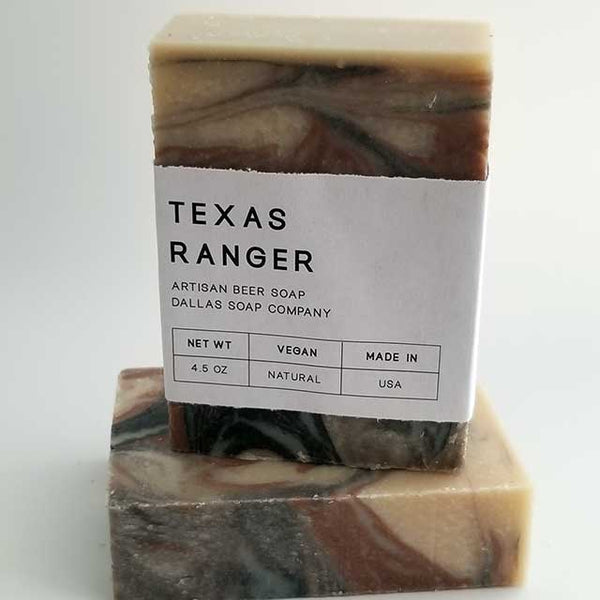 Texas Ranger Beer Soap Dallas Soap Company