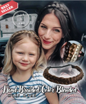 (Factory Outlet 65% OFF Today) Hand Braided Color Blended Hair Ban