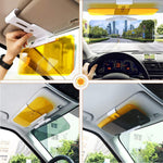 2 in 1 Anti-Glare Visor Day/Night Car Visor Extender Car Sunshade