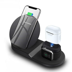 3 in 1 Wireless Charging Station for iPhone, Airpods and Apple Watch