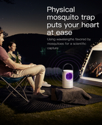 2019 New Physical anti-mosquito lamp indoor baby pregnant mute