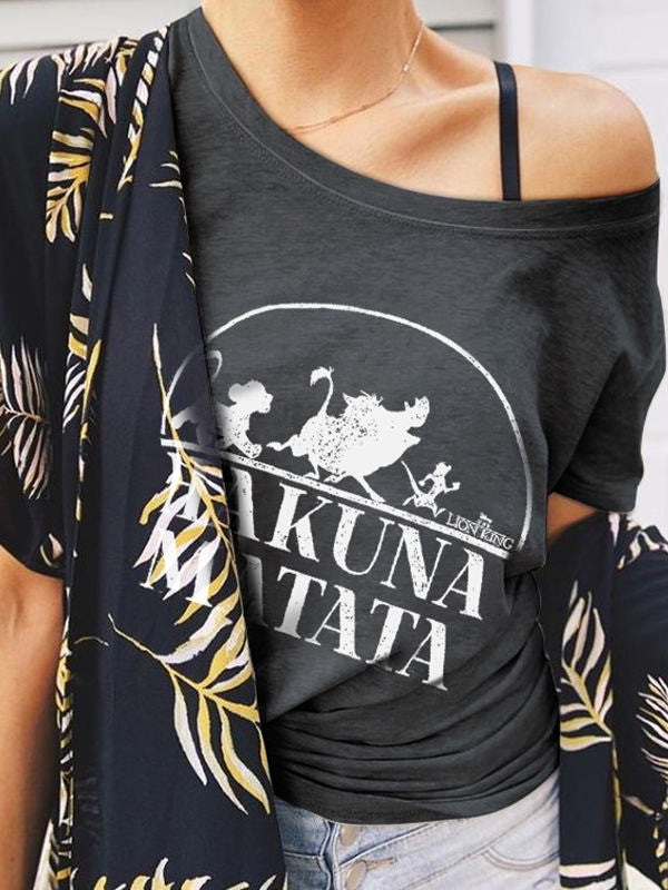 Lion King Hakuna Matata Graphic Tee