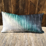 Blue Watermark Cushion