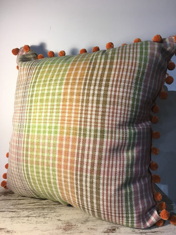 Tweed Piped Cushion