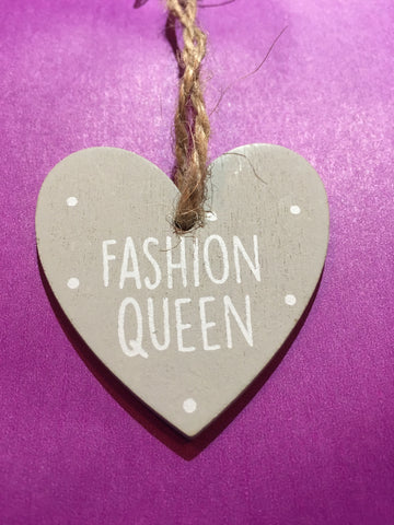Queen Wooden Plaque F