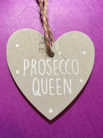 Prosecco Wooden Plaque