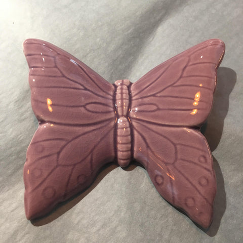Ceramic Butterfly Purple