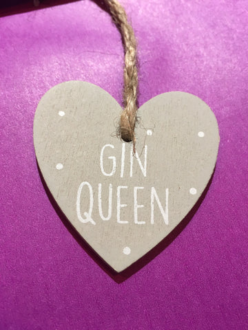 Gin Wooden Plaque