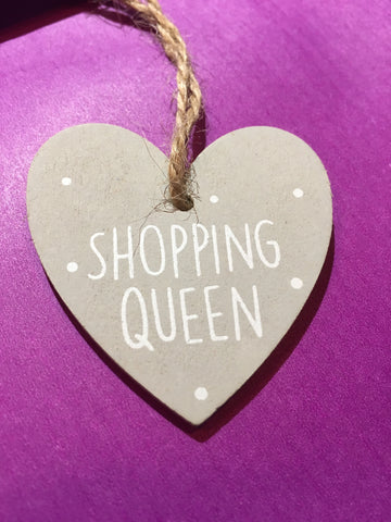 Queen Wooden Plaque SH