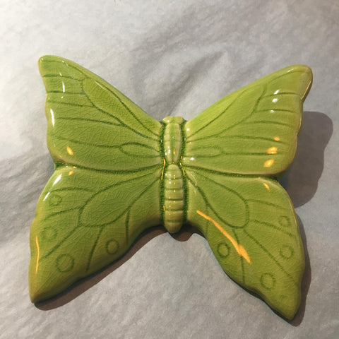 Ceramic Butterfly Green