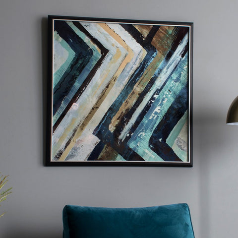 Arcadia Abstract Framed Art
