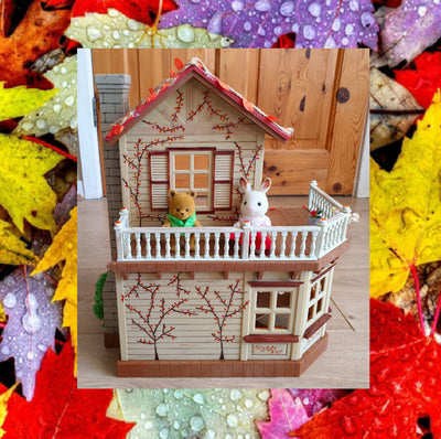 Sylvanian Families Autumn,Halloween House with Furniture & Figures