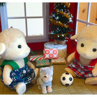 "alt=""sylvanian families brother & sister lambs playing"""