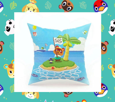 Animal Crossing Tom Nook Cushion Cover, Case