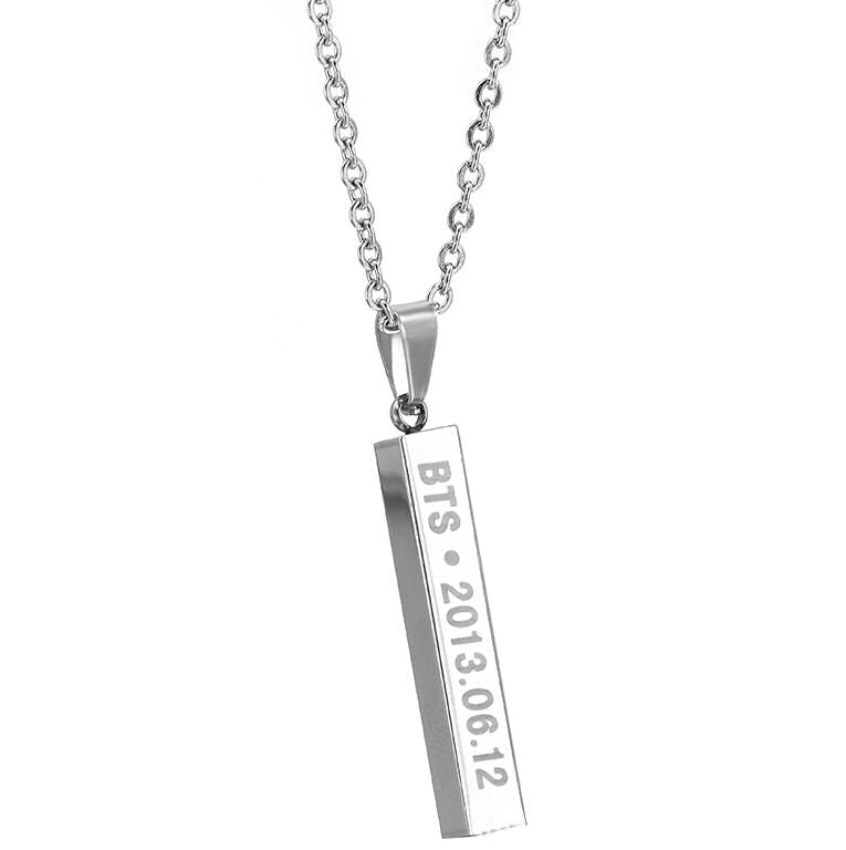BTS silver jewellery, birthday gift
