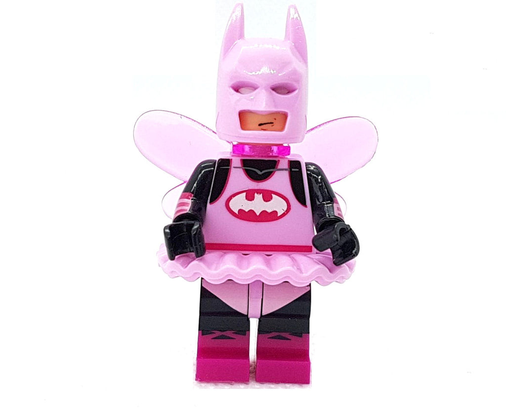 "alt=""batman minifigure dressed as a fairy, lego toys"""