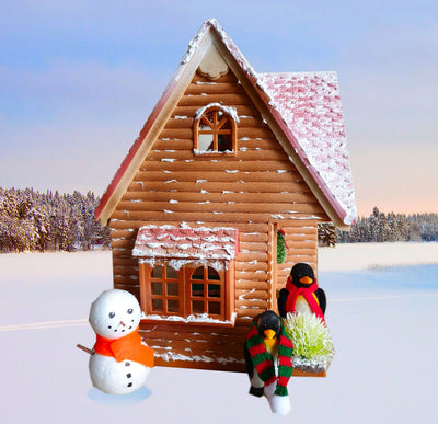 Sylvanian Families Snowy Pines Winter Lodge