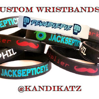 Youtuber Wristbands