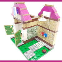 Customised Lego Friends Heartlake City Pool, with Figures & Extras