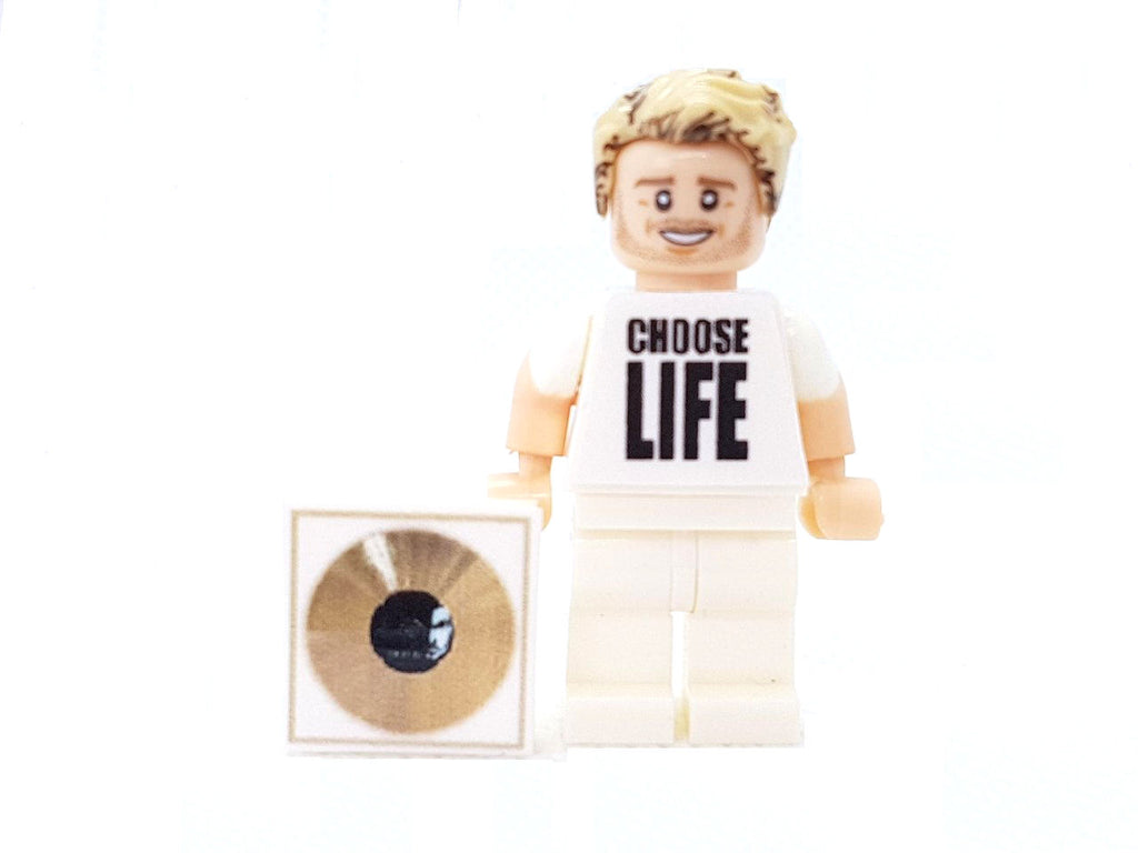George pop Brick Minifigure