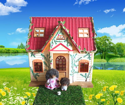 Sylvanian Families Summer Cottage with Hedgehogs