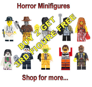 Horror Brick Block Minifigures