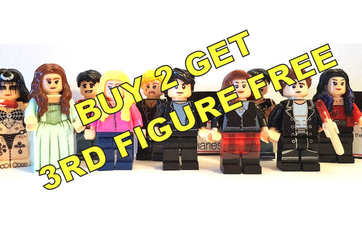 The Vampire Diaries Block Minifigures