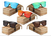 Kingseven Bamboo Framed Sunglasses