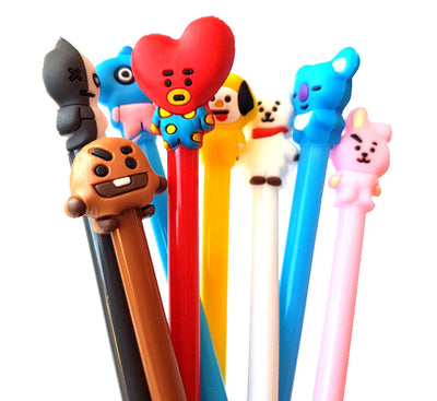 BT21 writing pens