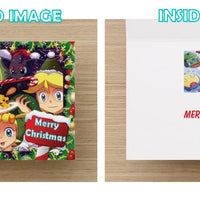 Pokemon Christmas Card - Greeting cards