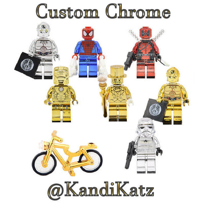 lego chrome minifigures