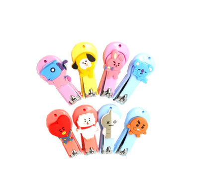 bt21 nailclippers, bts beauty products
