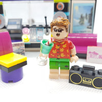 Club Tropicana George Minifigure & Recording Studio