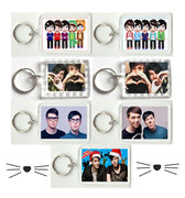 dan and Phil keychain, the cats whiskers keyring