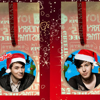Dan and Phil christmas bauble with photo