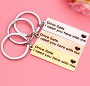 Drive Safe Keyrings-Keychain