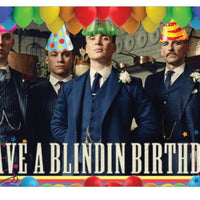 Peaky Blinders Birthday Card - Greeting cards
