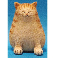Needle Felting Kit - Ginger Tabby Cat