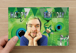 Jacksepticeye Birthday Card - Greeting cards