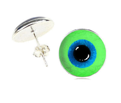 Jacksepticeye Earrings, Dome Style