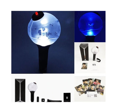 bts lightstick, version 3 glowstick, light stick for concerts