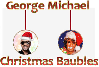 George Mini Baubles-Christmas Decorations