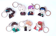 bts keyring,suga,jimin,rap monster