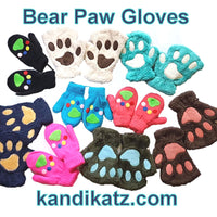 "alt=""bear paw winter gloves"""