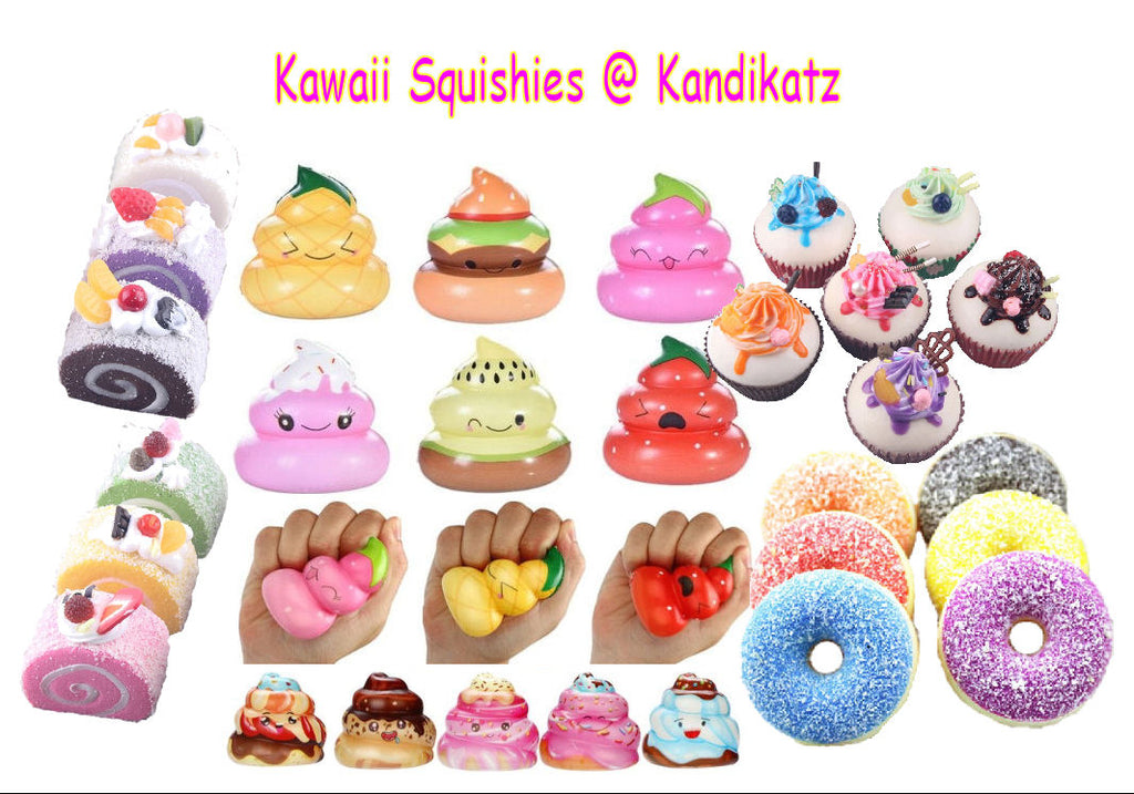 Kawaii Super Slow Rising Squishy Toys-Cakes