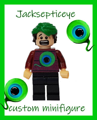 Jacksepticeye Brick Block Minifigure