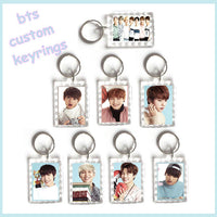 bts keychain, keyring, bt21 key ring